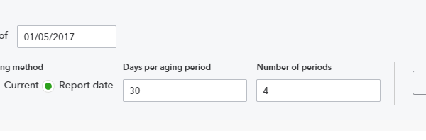 A/R and A/P reports with the aging method